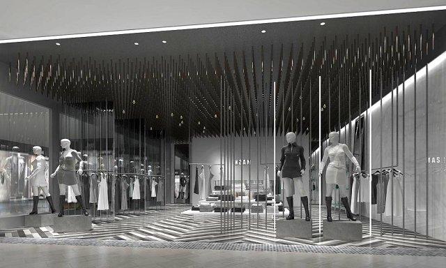 Fashion – Women Clothing Store 212 3D Model