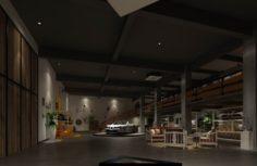 Business – Shop – Automotive Exhibition Hall – 9409 3D Model