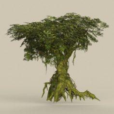 Game Ready Tree 25 3D Model