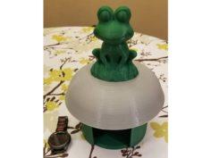 Simple Frog House 3D Print Model
