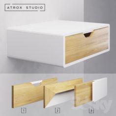 Suspended bedside tables Atrox Studio OM                                      Free 3D Model