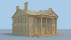 Connecticut House 3D Model
