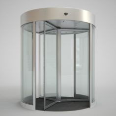 Revolving Door 220cm 3D Model