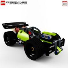 Lego 42072 WHACK Free 3D Model