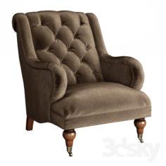 Gabriela Tufted Chair                                      3D Model