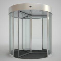 Revolving Door 250cm 3D Model