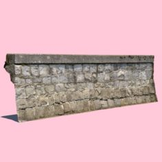 Seawall 3D Model