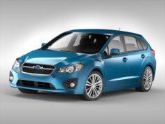 Subaru Impreza Sport 2011 – 2015 3D Model