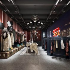 Fashion – Women Clothing Store 232 3D Model
