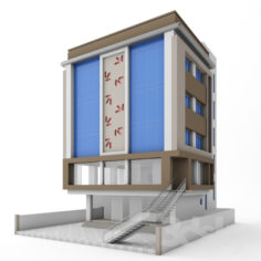 Office commercial building                                      Free 3D Model