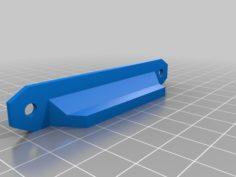 Prusa Lack Enclosure Door Handles for 20mm x 5mm x 2mm Magnets 3D Print Model