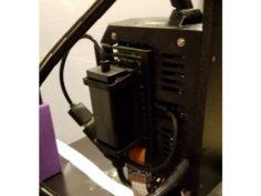 Extended RPi Zero W Einsy Door + Hub Mounts 3D Print Model