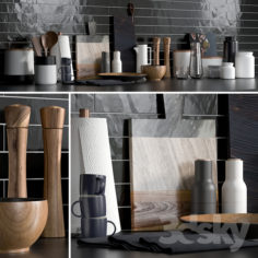 Kitchen Accessories 1                                      3D Model
