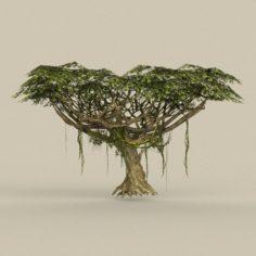 Game Ready Tree 22 3D Model