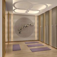 Business – Shop – Yoga Room – 9426 3D Model