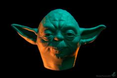 YODA head mask 3D Model
