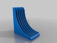 Small Xbox Game Rack 3D Print Model