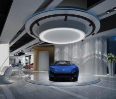 Business – Shop – Auto Showroom – 9454 3D Model