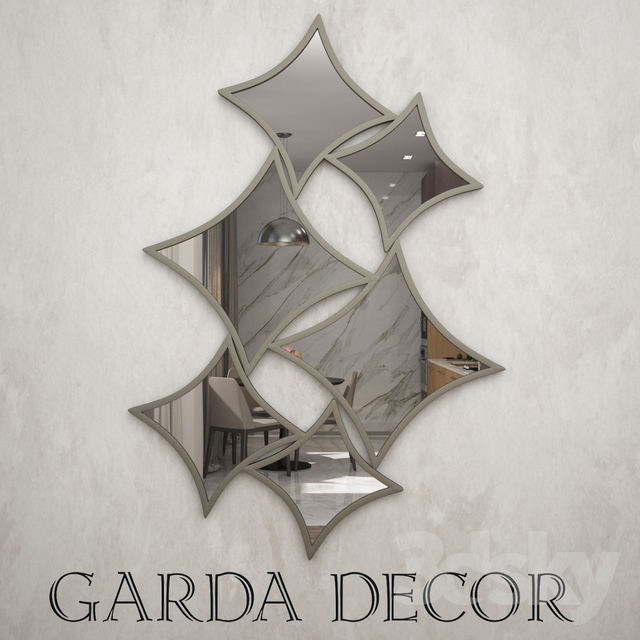 Mirror Garda Decor                                      Free 3D Model