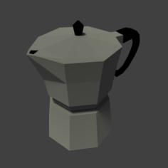 Coffee Pot Free 3D Model
