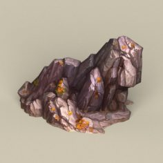 Game Ready Stone Rock 01 3D Model