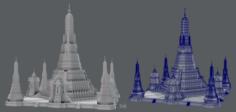 Wat Arun model 3D Model