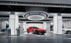 Business – Shop – Auto Showroom – 9453 3D Model