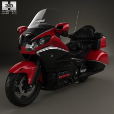Honda GL1800 Gold Wing 2015 3D Model