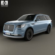 Lincoln Navigator concept 2016 3D Model