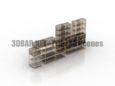 USM Modular Furniture part 02 3D Collection