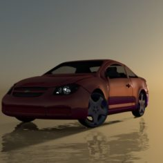 Chevy Cobalt LT						 Free 3D Model