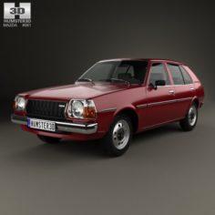 Mazda 323 Familia 1978 3D Model