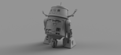 Chopper- Star Wars Rebels 3D Model