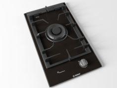 Cooktop 01 3D Model