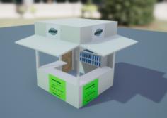 Snacks Shop 3D Model