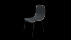 School Classroom Student Chair 1 3D Model