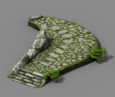 New Village – Pavement 3D Model