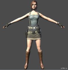 Jill 3D Model