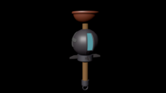 Fortnite Clinger – Toilet Plunger 3D Model