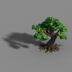 Small bamboo peak – tree 08 3D Model