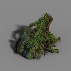 Small bamboo peak – tree 05 3D Model