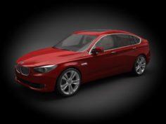 BMW M5 GT 2012 3D Model