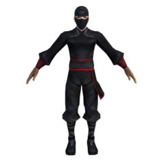 Game 3D Characters – Black Men – Men 3D Model