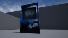 ABANDONED IRON DOOR 3D Model