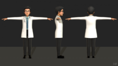 Doctor 3D Model