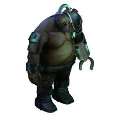 Evil Creature – Biochemical Soldier 01 3D Model