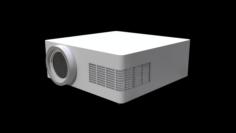 Classroom Projector 2 3D Model