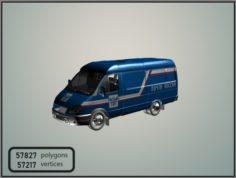 GAZelle 2705 Mail of Russia 3D Model