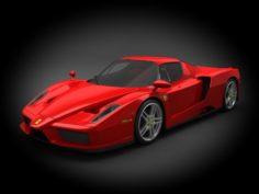Ferrari Enzo 2010 3D Model