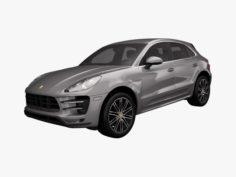 Porsche Macan Turbo 2015 3D Model
